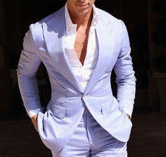 Sharp Dressed Man, Well Dressed Men, Mens Fashion Suits, Mens Suits, Tailor Made Suits, Designer Suits For Men, Formal Suits, Summer Suits, Suit And Tie