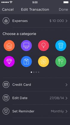 App Design Ideas find this pin and more on user interface design Walle_edit_transaction App Ui Designui Inspirationuser