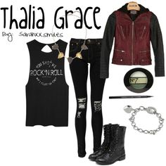 Thalia Grace Inspired Outfit on Polyvore