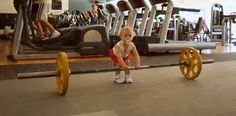 Baby Workout Shocks Belgian GymUsers
