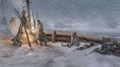 """Brand new Company of Heroes 2 screenshots showing off """"Coldtech"""" Hero Wallpaper, Wallpaper Backgrounds, Wallpapers, Company Of Heroes 2, Game Expo, Project Red, Hero Games, Red Army, Strategy Games"""