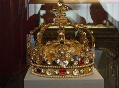 Una delle corone del tesoro di Francia