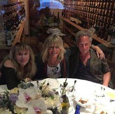 Stevie Nicks, Christine McVie and Lindsey Buckingham of Fleetwood Mac