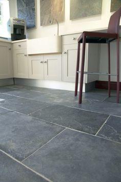 Kitchen? Classic Grey Riven Slate Stone mandarin