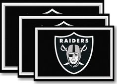 Use the code PINFIVE to receive an additional 5% discount off the price of the  Oakland Raiders NFL Area Rugs at sportsfansplus.com