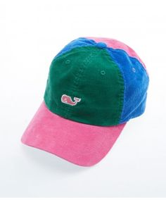 Vineyard Vines Party Corduroy Hat!  www.keenelandgiftshop.com