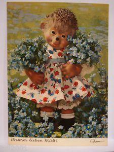 Alte Mecki Postkarte Unserer lieben Mutti von Diehl-Film nr.3315 | eBay