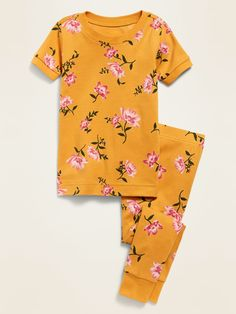 Printed Pajama Set for Toddler Girls & Baby | Old Navy