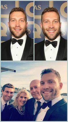 Jai Courtney and Family at the GQ, Men of the Year Awards, 10 Nov 2015, Sydney, Australia