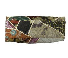 PatchWork Leather Handle Handbag #styleincraft #handbag #shoulderbag #handmadebag