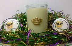 Mardi Gras Favors #Southern Lights Candles