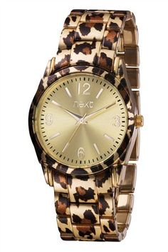 Animal Print Sports Watch.