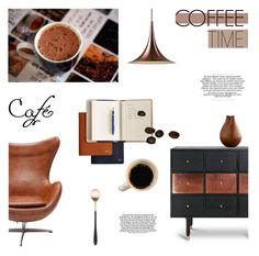 """Coffee time"" by helenevlacho ❤ liked on Polyvore featuring interior, interiors, interior design, home, home decor, interior decorating, livingroom, Home, design and coffee"