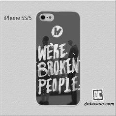 Twenty One Pilots Paints For Iphone 5 | 5S | SE Case