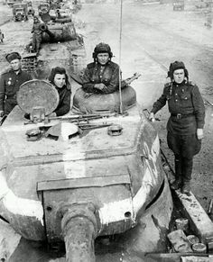 """IS-2 in Berlin. The Iosif Stalin tank (IS, in Cyrillic """"ИС"""" tanks, meaning the Joseph Stalin tank) was a heavy tank developed by the Soviet Union during World War II and first used early in 1944."""