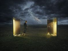 Dreamwalking from a master of photo manipulation: Photographer Erik Johansson. …in between