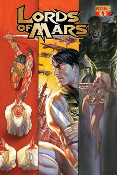 Warlord of Mars cover art by Alex Ross