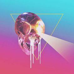Inspiração: Conheça as criações psicodélicas de Justin Mays Photoshop, Retro Futurism, Collage Art, Surrealism, Creations, Images, Graphic Design, Abstract, Illustration