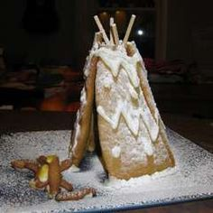 Gingerbread Tee Pee. Baking Me Crazy