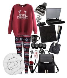 """MERRY CHRISTMAS and HAPPY NEW YEAR"" by ac-awesome ❤ liked on Polyvore featuring WithChic, Bobbi Brown Cosmetics, Sephora Collection, Eichholtz, Fuji, Essie, Morgan Collection, Urbanears, Remington and NARS Cosmetics"
