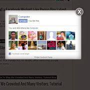 How to Install a Facebook Widget Like Popup Box Latest Update.