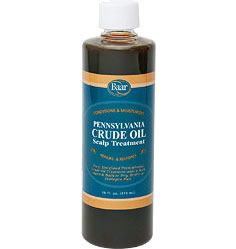 Baar Products Pennsylvania Crude Oil. Pennsylvania Crude Oil was mentioned many times in the Cayce Readings to stimulate and clean the scalp, improve the fullness and shine of your hair, and to help with graying hair and hair loss. It adds a rich sheen to hair while conditioning and moisturizing. It adds body to dry, brittle or damaged hair. Crude Oil may also help restore your hair to its natural condition.