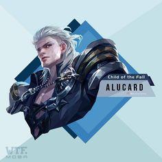Alucard Mobile Legends, Mobile Legend Wallpaper, Wallpaper Art, Online Battle, Dope Wallpapers, Viscount, Demon Hunter, Mobile Game, Anime Guys