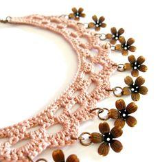Crochet Lace necklace