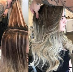 CORRECTION: Uneven Stripes To Tasteful Melt - Hair Color - Modern Salon