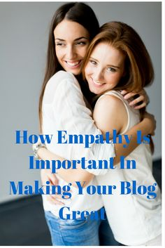 Blog post at Secret Jar Of Success : How Empathy Is Important In Making Your Blog Great   Have you ever been in a place where you needed use Empathy. Writing a blog is [..]