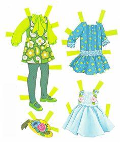 Paper Dolls~Tutti Blue Folder - Bonnie Jones - Álbumes web de Picasa