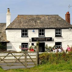 The Cornish Arms - best restaurant St Merryn, Cornwall. See details, prices and photos and book online with the Food Insider's Guide. Places In Cornwall, Devon And Cornwall, Cornish Arms, Cornish Coast, Rick Stein, Tavistock, Best Pubs, Old Pub, British Pub
