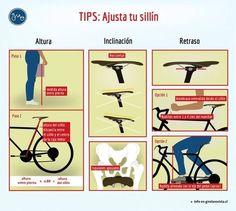 La importancia del ajuste del sillín