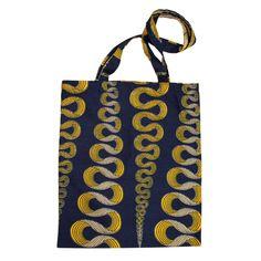 Ribbon shopper bag