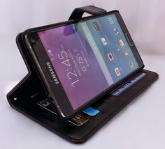 Good review with video about this Samsung Galaxy Note 4 Wallet Case