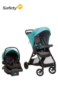 Our Safety 1st Smooth Ride Travel System makes running errands with baby (in any weather) hassle-free!