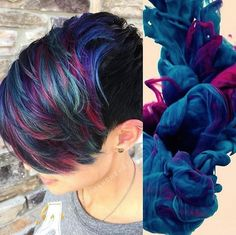 Gorgeous #KenraColorCreative work by Hailey Mahone! #KenraColor
