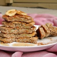 Banana Buckwheat Gluton Free pancakes