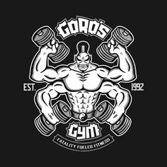 Trim Your Waist With These Awesome Fitness Tips! Video Game Logos, Mortal Kombat Art, Gym Logo, Logan Wolverine, Video X, Gym Tank Tops, Fighting Games, Gym Shirts, Street Fighter