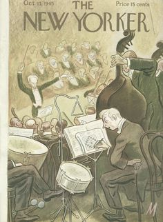 The New Yorker - Saturday, October 13, 1945 - Issue # 1078 - Vol. 21 - N° 35 - Cover by : Julian de Miskey