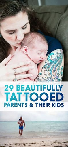 29 Kids With Their Beautifully Tattooed Parents