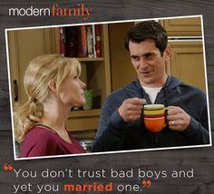 Phil Dunphy and tea is a deadly combo! Modern Family lovers, hit like!