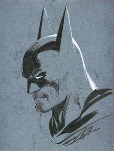 Batman Blue by Neal Adams
