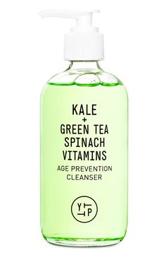 This superfood gel cleanser is packed with antioxidants that balance and remove daily dirt and toxins.