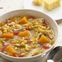 Turkey & Squash Soup - EatingWell.com
