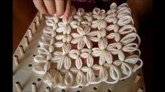 hobby e passioni racchiusi nel mio cassetto: Piastrella con fiori tutorial - Telai di Maria di ...