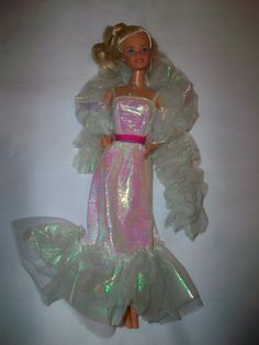 Crystal Barbie Doll: you know you had her!