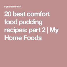 20 best comfort food pudding recipes: part 2 Tart Recipes, Pudding Recipes, No Bake Desserts, Dessert Recipes, Best Comfort Food, Home Food, Foods, Baking, Sweet