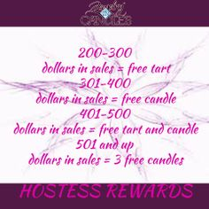 Rewards for hosting a Jewelry In Candles party online or in person.. earn free candles and/or tarts..https://www.jewelryincandles.com/store/kimberlysloane