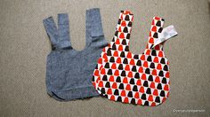 Making reversible bag- recommended by LeeAnn T - use 1-1/2 yards fabric to prepare for shrinking when washing before sewing, adjust shoulder strap longer for teenager. Do not use heavy weight for both, too hard to pull through skinny strap- medium to light weight best. Takes about 2 hours if you don't make mistakes.